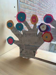 Thomas Elementary Art: Hundertwasser Inspired Abstract Tree Sculptures by 2nd Grade