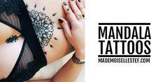 Aujourd'hui (et ça faisait trèèèèèèès longtemps !) un nouveau tattoo idea !! YEEPIII !!! Ce tattoo idea j'ai voulu vous le proposer autour du Mandala >>>