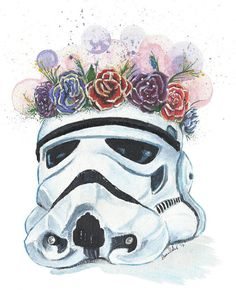 Original signed paintings: Stormtrooper Star Wars / Kurt