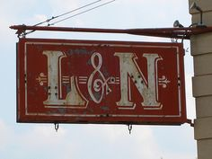 L&N Depot Sign Knoxville, TN