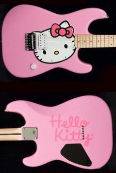 Fender Squier Hello Kitty Pink Stratocaster