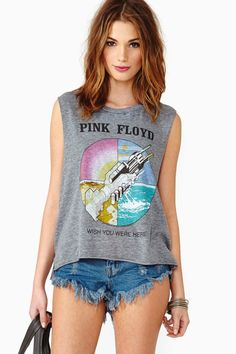 My philosophy..you are never too old for rock tees! Never.
