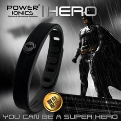 FREE SHIPPING ON ALL ITEMS!    ACT AS THE DARK KNIGHT WITH THIS BATMAN POWER IONICS BAND!!!    The POWER IONICS bracelet, necklace, and pendant are crafted with only the highest quality metals.    The POWER IONICS Magnetic therapy is a safe, non-invasive method of applying magnetic fields to the body for therapeutic purposes. It has been found to speed the healing processes and improve quality of sleep without any adverse side effects. Magnetic therapy can be used independently or in…