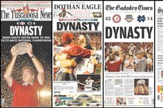 BCS National Championship newspaper headlines: Morning after for Bama, Irish - SBNation.com
