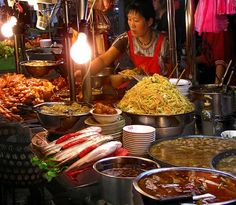 The best foods in Taiwan are literally made in stands outdoors along the streets.