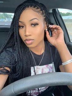 Braided Hairstyles For Black Women Cornrows, Box Braids Hairstyles For Black Women, Black Girl Braids, African Braids Hairstyles, Braids For Black Hair, Girls Braids, Braid Hairstyles, Braids For Black Women, Lemonade Braids Hairstyles