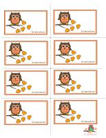 An owl themed Baby Shower Party or a Birthday Party could be made more colorful, cute and fun with these adorable free printable cute owl labels that I am offering on this page. Classroom Name Tags, Owl Theme Classroom, Free Printable Gift Tags, Free Printables, Owl Name Tags, Owl Miss You, Owl Labels, Fall Owl, Cute Planner