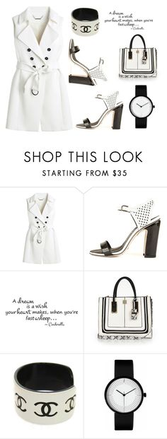 ♥ by macopa on Polyvore featuring mode, White House Black Market, Chanel and River Island