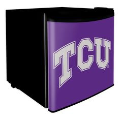 TCU Horned Frogs Dorm Room Mini-Fridge🔹TCU🔹🔹More Great Ideas! 🔹💥More Pins Like This At FOSTERGINGER @ Pinterest 💥🔹