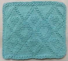 Lavette - Les petits coeurs - Cercle de Fermières de Montréal-Nord Montreal, Chat Crochet, Dishcloth Knitting Patterns, Hot Pads, Diy And Crafts, Baby Blankets, Mousse, Plushies, Patterns
