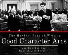 You ready for this? The number one mistake authors make with character arcs is that they try to remake their character into someone new. Find out why that's a problem!
