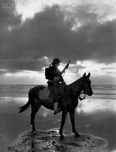 Coast Guard Patrol on Horseback