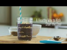 Wake-up Wild Blueberry Smoothie - Wild Blueberries Protein Smoothie Recipes, Breakfast Smoothie Recipes, Smoothie Ingredients, Juice Smoothie, Smoothie Drinks, Healthy Carbs, Healthy Fruits, Healthy Drinks, Kate Allen