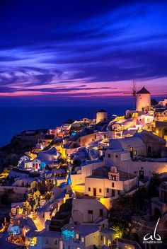 Beautiful cloud swirls form during the sunset in Santorini, Greece Explored August 2016 Beautiful Places In The World, Beautiful Places To Visit, Greece Photography, Travel Photography, The Places Youll Go, Places To Go, Travel Aesthetic, Greece Travel, Greek Isles