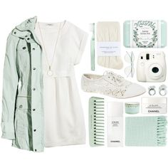 Outfit 135 by holass on Polyvore featuring polyvore, moda, style, Madewell, Burberry, Johnstons, Wet Seal, Accessorize, Wildfox, Mistral, Tocca, Surya, Chanel and Supersmile