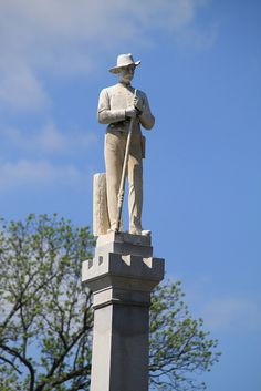 Franklin Confederate Monument, C. 1899  - Franklin. Tn
