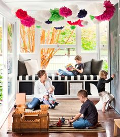 (via Child's play: rural Queensland family home)