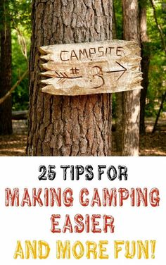Diy Projects: 25 Tips For Making Camping Easier