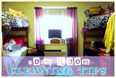How to Clean a Dorm Room (Dorm Room Essentials)