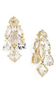 Kate Spade New York Statement Chandelier Earrings, Clear kate spade new york http://www.amazon.com/dp/B00RD7WWOK/ref=cm_sw_r_pi_dp_QazMub00N49QC