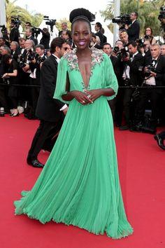Lupita Nyong'o en Festival de Cannes 2015