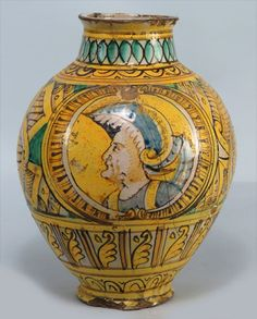 Lot: ITALIAN MAIOLICA BOMBOLA, Lot Number: 0090, Starting Bid: $500, Auctioneer: CRN Auctions, Inc., Auction: SINGLE-OWNER ESTATE - a Renaissance Passion, Date: May 31st, 2014 CEST