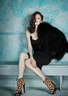Coco Rocha, for Browns Shoes FW 2014