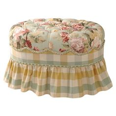 Someday I will have another shot at getting my pretty bedroom ottoman.