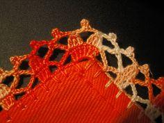 Filomena Crochet e Outros Lavores: Bicos de Crochet em Toalha de Chá