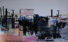 Excellent Art Utrecht  George Heidweiller - Dices 160 x 100 cm. Unica.