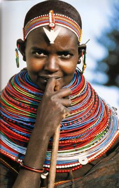 Samburu girl wearing a nubility necklace stack, late century. Photo by Angela Fisher Kenya, Africa. Samburu girl wearing a nubility necklace stack, late century. Photo by Angela Fisher African Tribes, African Women, We Are The World, People Around The World, Black Is Beautiful, Beautiful People, Simply Beautiful, Kenya Africa, Do It Yourself Fashion