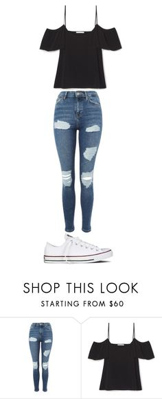 """Europe Outfit #1"" by albanesi on Polyvore featuring Topshop and Converse"