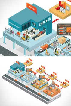 Link Infographics by Gualter Amaro, via Behance