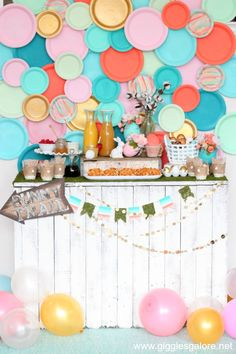 The perfect combination of breakfast and lunch, this darling Easter Waffle Bar Brunch is an ideal way to celebrate Easter! #mychinet #easter #holidayparty #partyideas #wafflebar #brunch