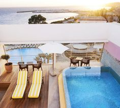 Sunny Places: Cyprus, Le Meridien Limassol Spa & Resort—Presidential Suite - private pool Terrace
