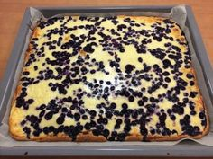 Pellillinen mustikkapiirakkaa, tried it, a classic delicious blueberry pie No Bake Desserts, Dessert Recipes, Finland Food, Finnish Recipes, Sweet Pastries, Sweet Pie, Dessert Bars, Yummy Cakes, No Bake Cake