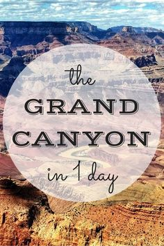 Chances are you're only going to visit the Grand canyon once and you only have a day to do it - here's my guide to how to spend one day at the Grand Canyon. Arizona Road Trip, Arizona Travel, Road Trip Usa, Grand Canyon Vacation, Visiting The Grand Canyon, Grand Canyon South Rim, Grand Canyon Arizona, New Orleans, New York