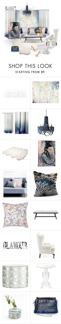 """""""THS 11/29/15~Got Glamour?"""" by caroline-brazeau ❤ liked on Polyvore featuring interior, interiors, interior design, home, home decor, interior decorating, John Beard Collection, Dot & Bo, UGG Australia and Posh Totty Designs Interiors"""