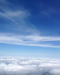 Clouds ~ Cirrus and Cumulus || Photography by Pam Braswell