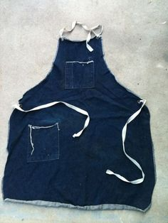 b51c80203e vintage work aprons denim jeans old long john blog fashion footwear  lifestyle projects rigid usa blue