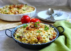 Sünis kanál: Sváb Käsespätzle – sajtos nokedli Meat Recipes, Pasta Recipes, Hungarian Recipes, International Recipes, Gnocchi, Risotto, Potato Salad, Macaroni And Cheese, Meals