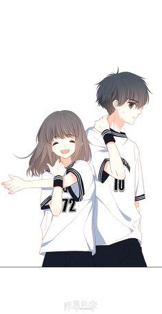 Anime Cupples, Kawaii Anime, Anime Guys, Cute Couple Art, Anime Love Couple, Anime Couples Drawings, Anime Couples Manga, Anime Girl Cute, Anime Art Girl