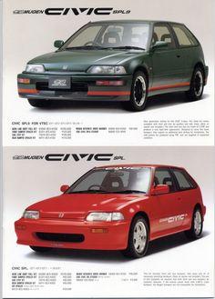 Mugen and wheels Honda Civic Hatchback, Honda Crx, Civic Sedan, Tuner Cars, Jdm Cars, Soichiro Honda, Civic Ef, Classic Japanese Cars, Street Racing Cars