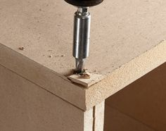 MDF (medium-density fiberboard) is inexpensive, durable, and a good choice for many woodworking and carpentry projects. Learn how to use MDF wood correctly. Essential Woodworking Tools, Antique Woodworking Tools, Woodworking Skills, Woodworking Techniques, Fine Woodworking, Woodworking Workshop, Carpentry Projects, Wood Projects, Bois Diy