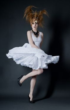 Petticoat Sommerkleid von HerzblutCouture via dawanda.com