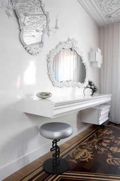 Luxurious Private Residence in Amsterdam by Marcel Wanders | Luxury Mirrors, Best Interior Design, Contemporary Decor, Home Accessories. For More Inspirations: http://www.bocadolobo.com/en/inspiration-and-ideas/