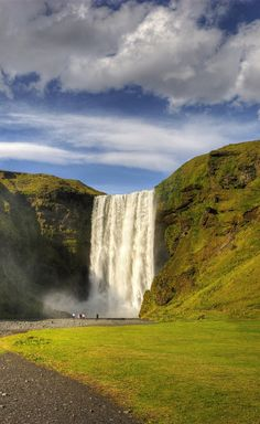 Day 2:  Skogafoss waterfall #Iceland