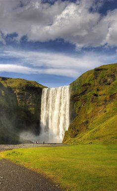 Day 2:  Skogafoss waterfall #Iceland