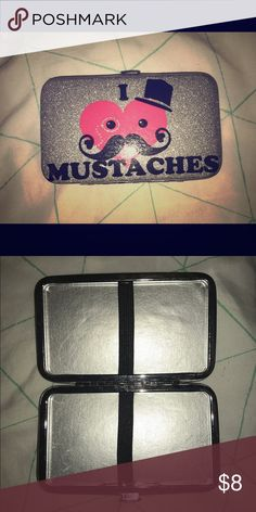 Small wallet Simple small mustache wallet Bags Wallets
