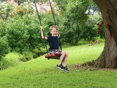 How to Make a Tree Swing! (Tree Not Included)